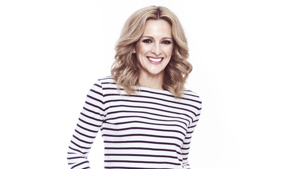 "Gabby Logan ""Skipping a treat is such a wonderful idea"""